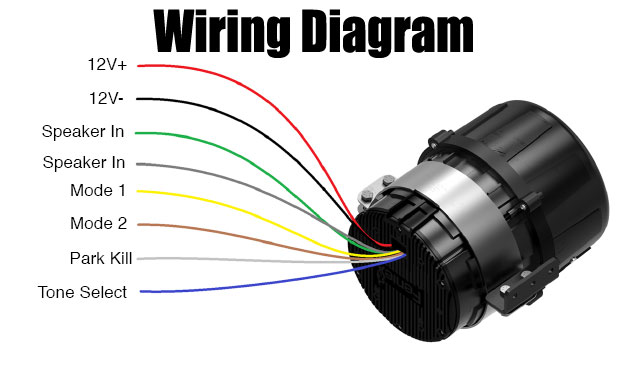 Feniex Hammer Low Frequency Siren Wiring Diagram S-3017